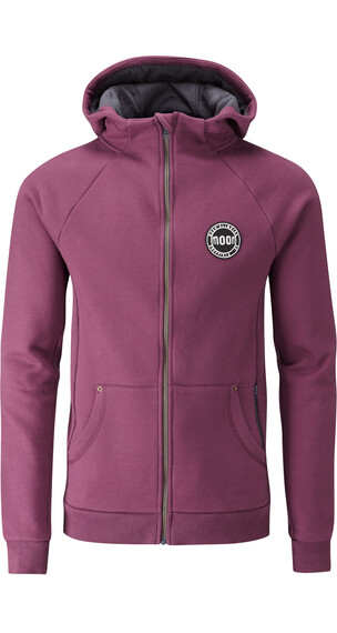 Moon Climbing M's Full Zip Hoody Purple Potion